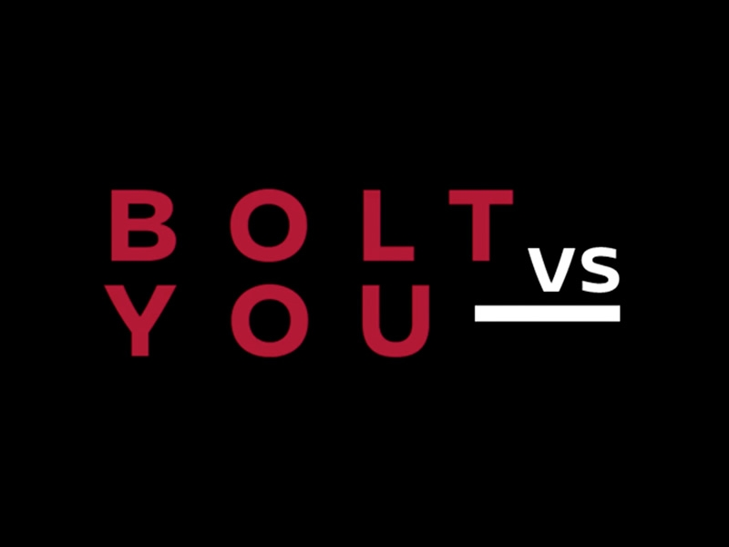 Bolt vs You